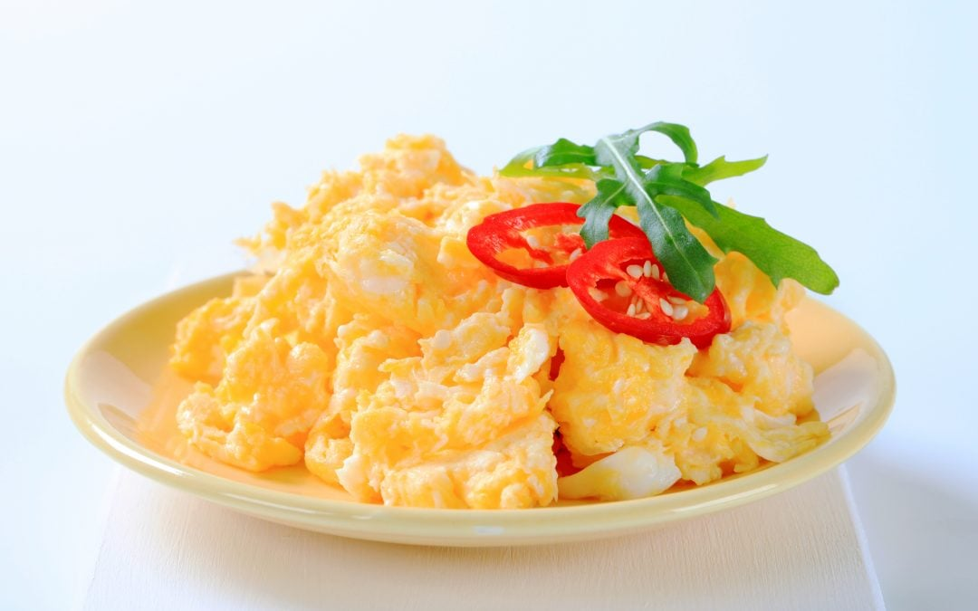 Yummy and Fluffy, Check Out This Scrambled Egg Recipe