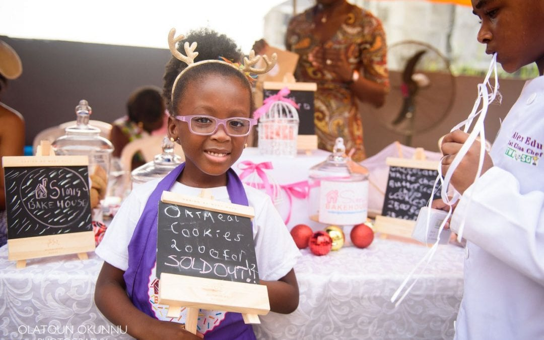 Wow! Simisiola Gbadamosi is a 5 Year Old Award Winning Baker