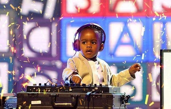 DJ Arch- The Five Year Old Disc Jockey With A Guinness World Record